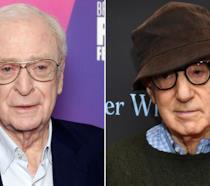 Michael Caine e Woody Allen in due scatti ufficiali