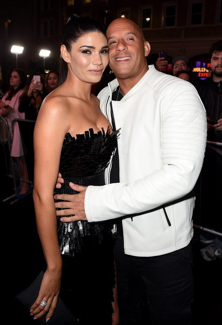 Vin Diesel e Paloma Jimérez a un evento