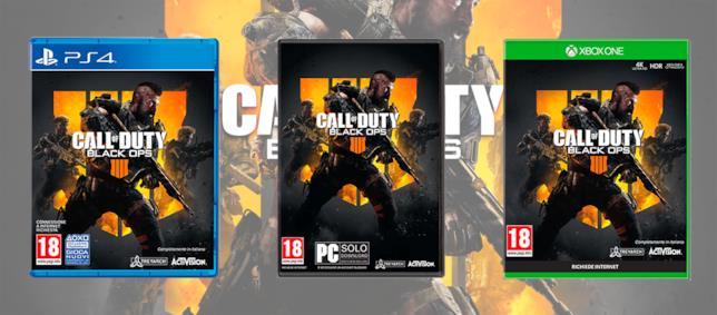 Le versioni in vendita di Black Ops 4