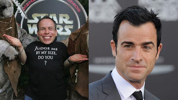 Star Wars: Gli Ultimi Jedi: Warwick Davis e Justin Theroux