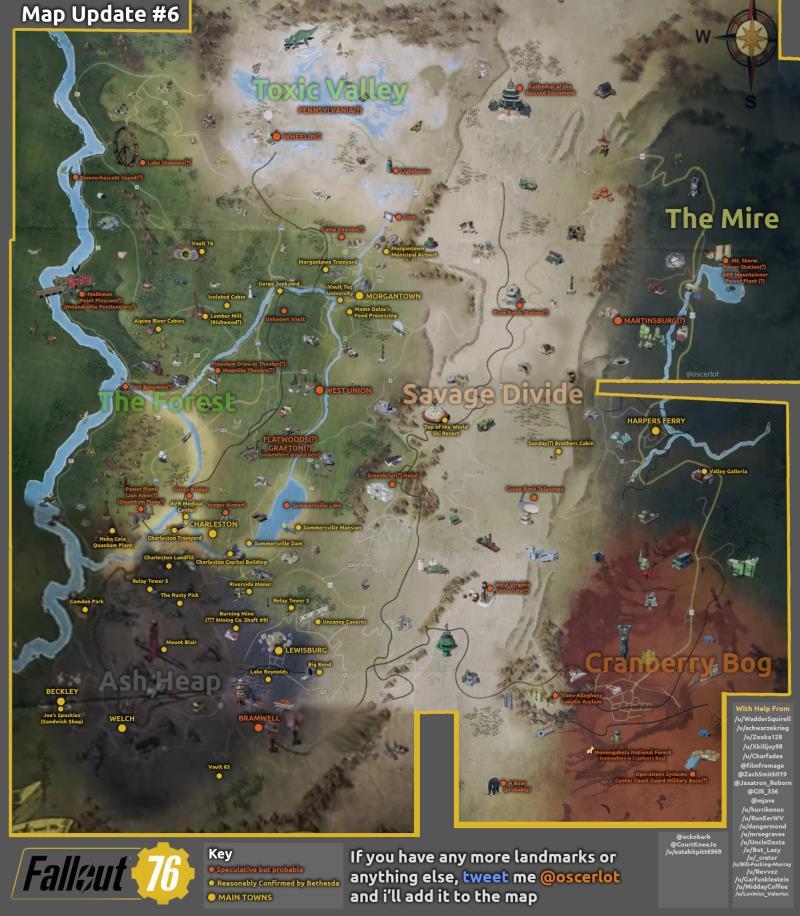 Fallout 76 ci porterà nella Virgina post-apocalittica