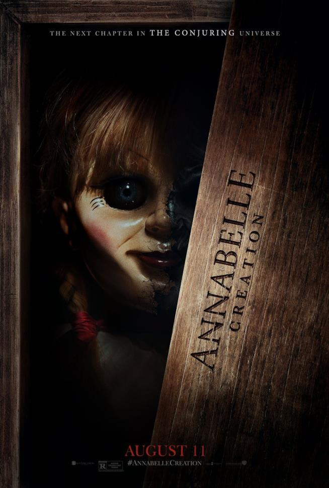 Annabelle Creation, poster ufficiale
