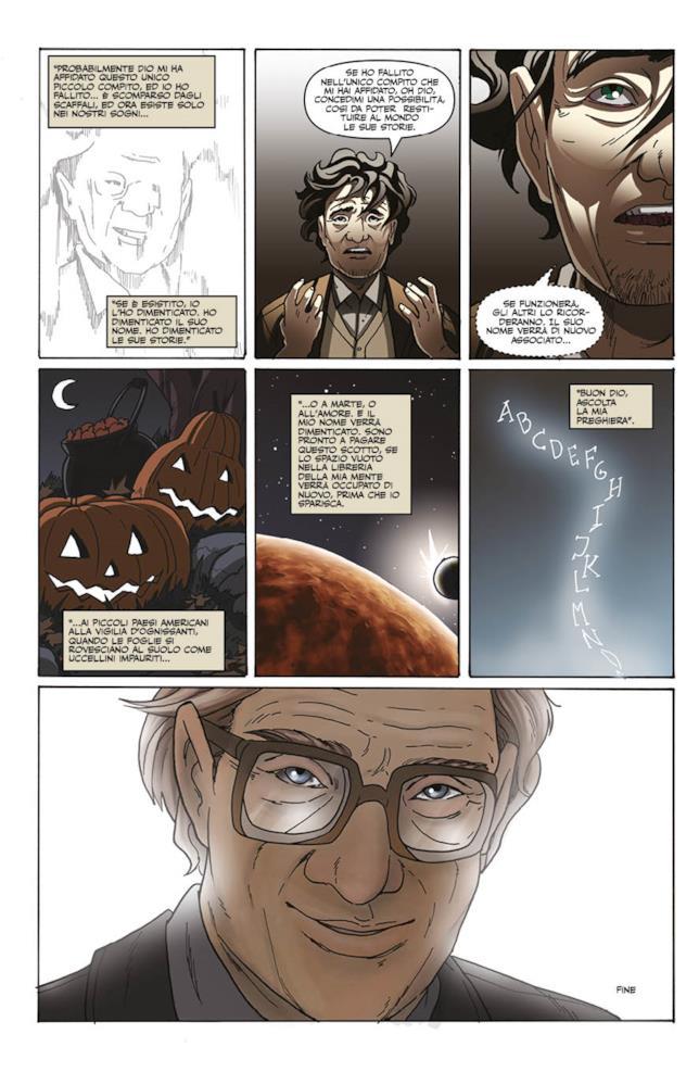 Una tavola tratta dal racconto di Neil Gaiman
