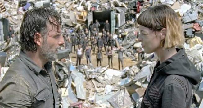 The Walking Dead: Rick e Jadis