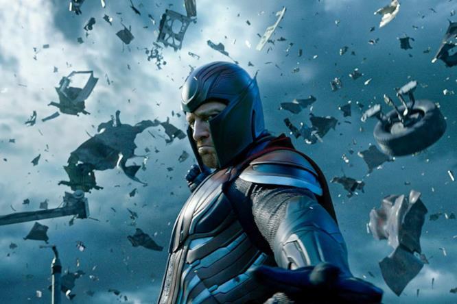 I terribili poteri di Magneto in una scena del film