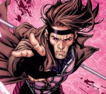 Gambit in un'illustrazione dal fumetto originale X-Men