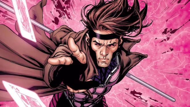 Gambit in un'illustrazione dal fumetto originale X-Men