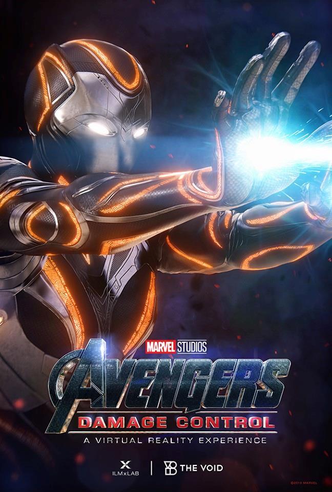 Poster ufficiale di Avengers: Damage Control