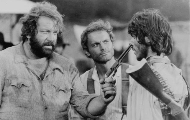 Bud Spencer e Terence Hill icone western da ridere