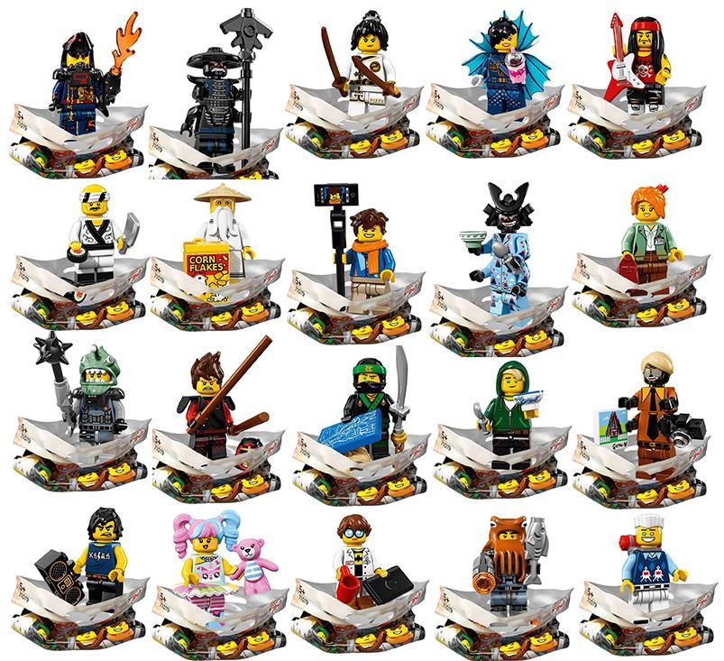 Le venti Minifigure di LEGO Ninjago - Il Film