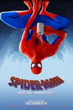 Peter B. Parker nel poster di Spider-Man: Un nuovo universo dedicato al suo personaggio