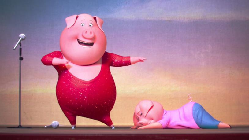 Sing, le star cantano nel nuovo film d'animazione della Illumination Entertainment