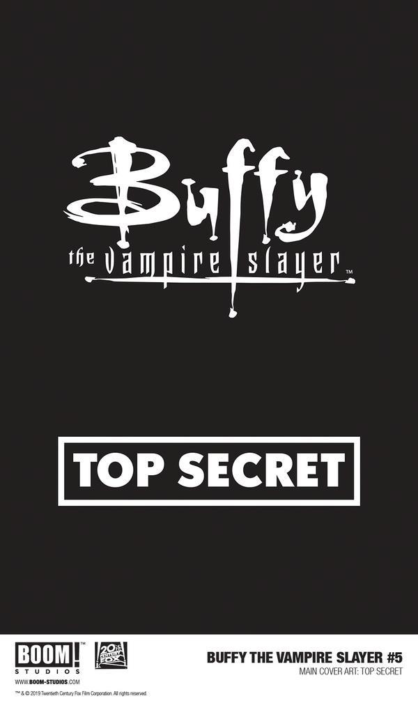 Copertina di Buffy the Vampire Slayer #5