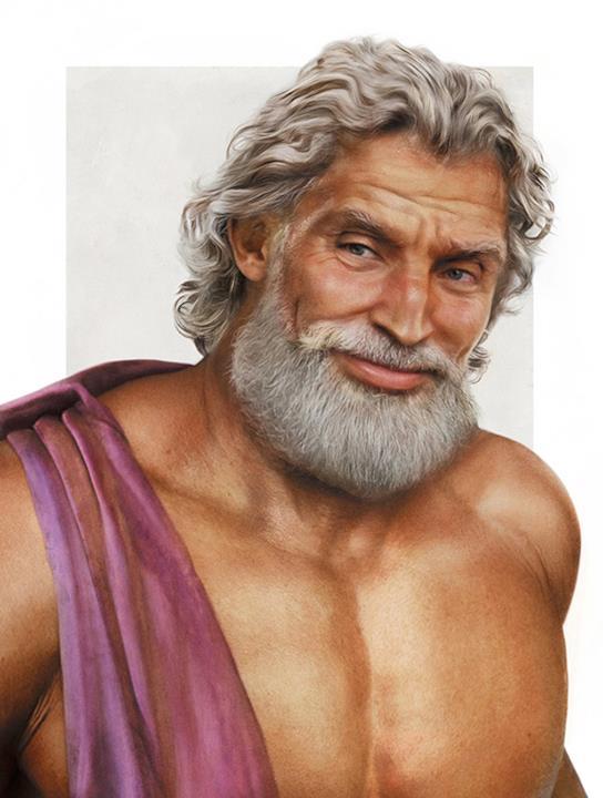 Zeus, il sovrano degli Dei, nella vita reale