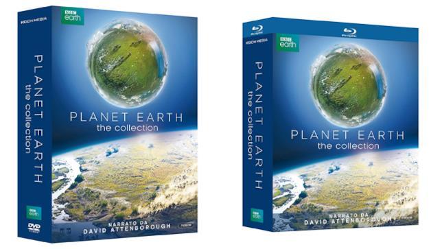 Planet Earth 1 e 2 - Home Video - DVD e Blu-ray