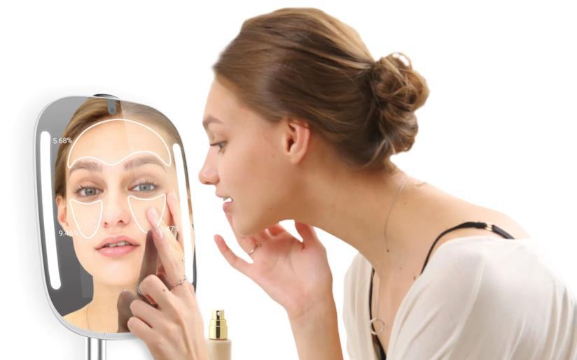 HiMirror è lo specchio hi-tech che offre consigli di bellezza