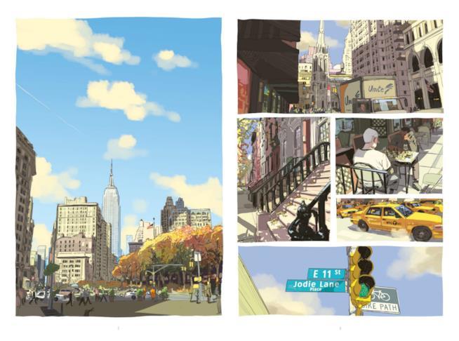 Due viste di New York da Il suono del mondo a memoria