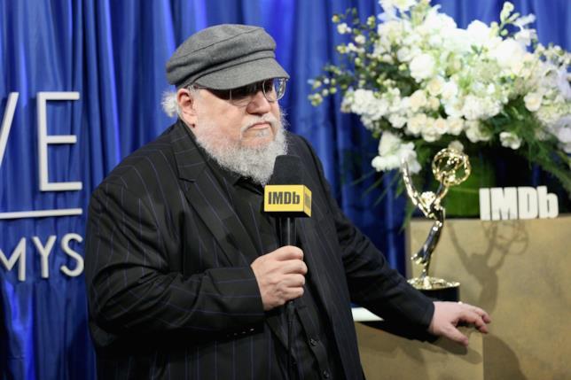 George R.R. Martin agli Emmy Awards