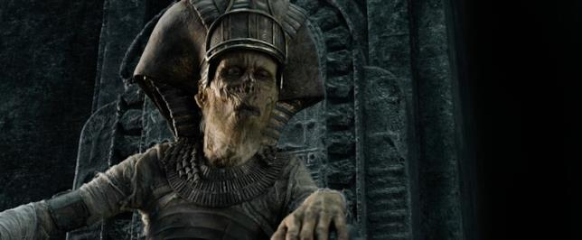Bruce Spence in una scena di Gods of Egypt