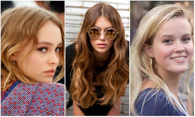 Kaia Gerber, Ava Philippe e Lily-Rose Depp