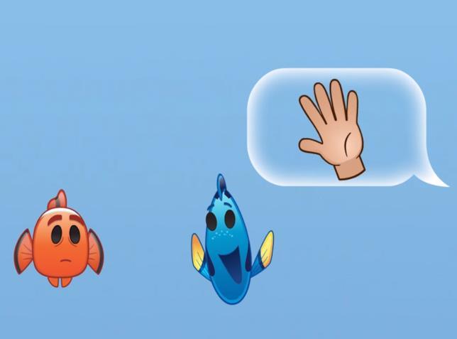 Nemo clip emoji Disney 2016