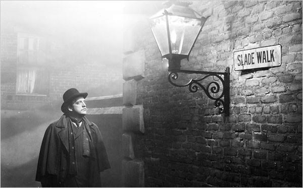 Immagine tratta da Il pensionante di Hitchcock