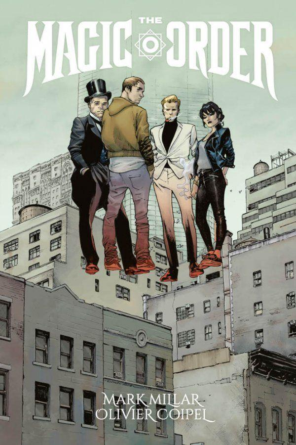 La copertina del volume italiano di The Magic Order di Mark Millar