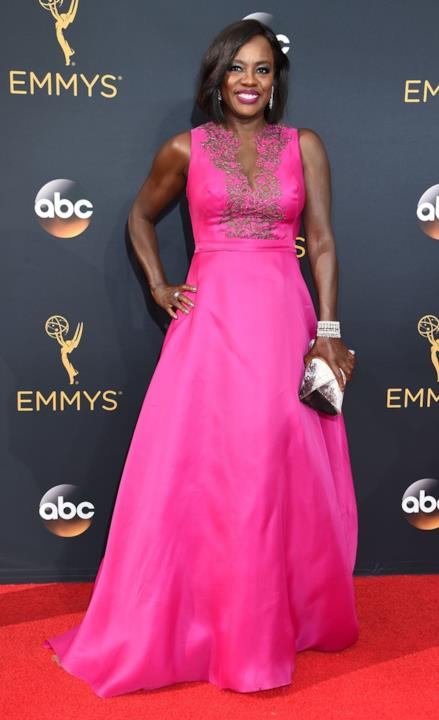 Viola Davis agli Emmy 2016
