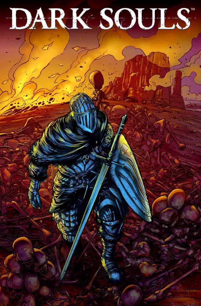 La copertina del fumetto Dark Souls