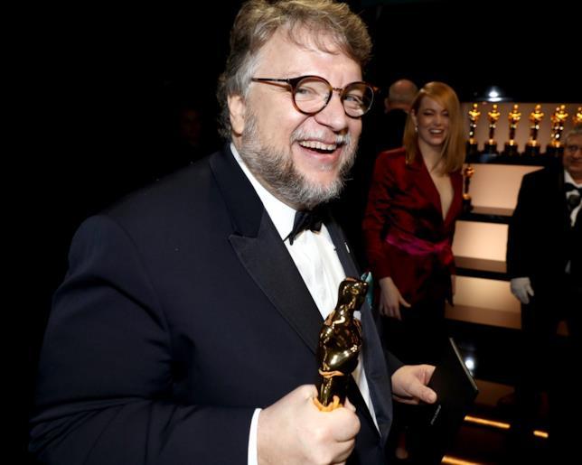 Guillermo Del Toro agli Oscar