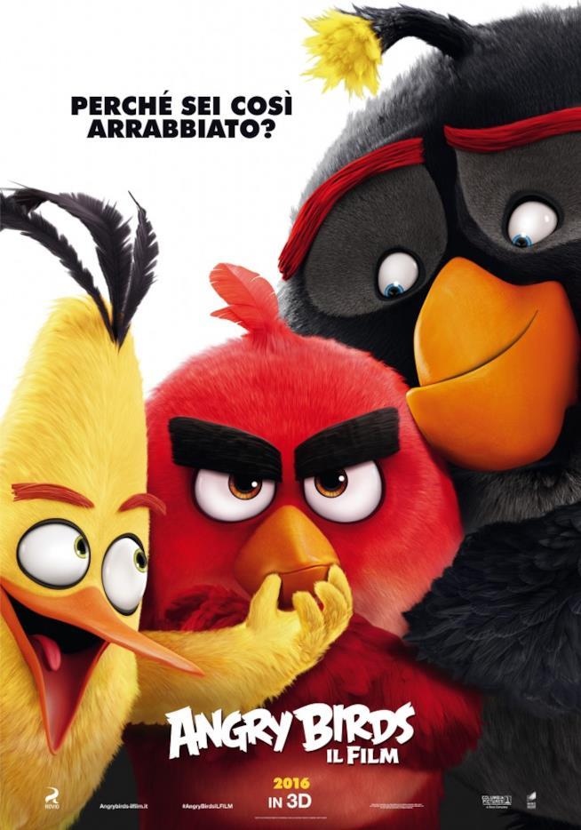 Perché sei così arrabbiato? Angry Birds arriva nei cinema italiani a giugno 2016
