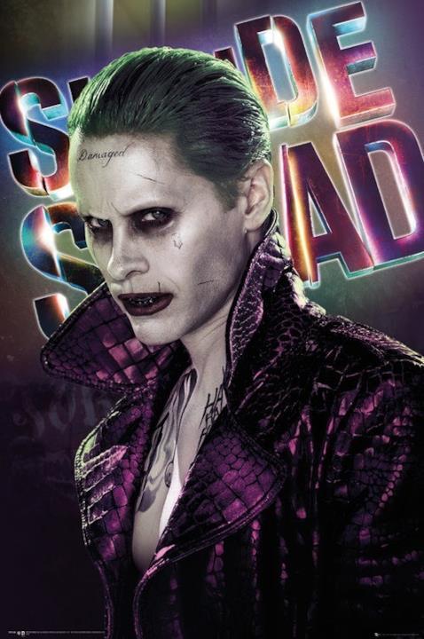 Jared Leto nel character poster del Joker