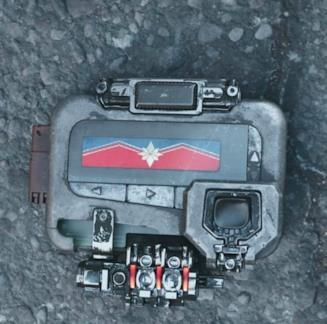 Il simbolo di Capitan Marvel