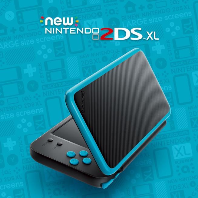 Foto del nuovo 2DS XL di Nintendo