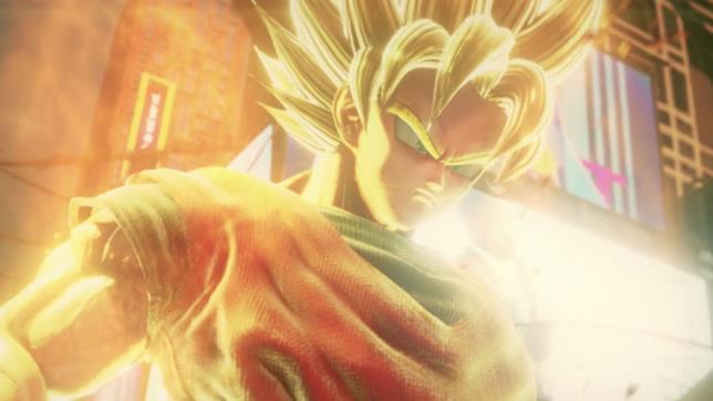 Jump Force Goku in Super Saiyan
