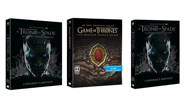 I boxset di Game of Thrones 7 DVD e Blu-ray