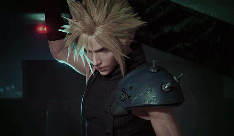 Una GIF dal remake di Final Fantasy VII