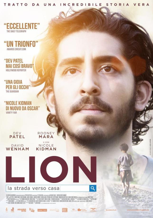 Il poster del film Lion