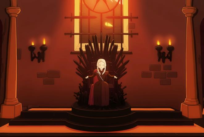 Cersei nel videogame Reigns: Game of Thrones