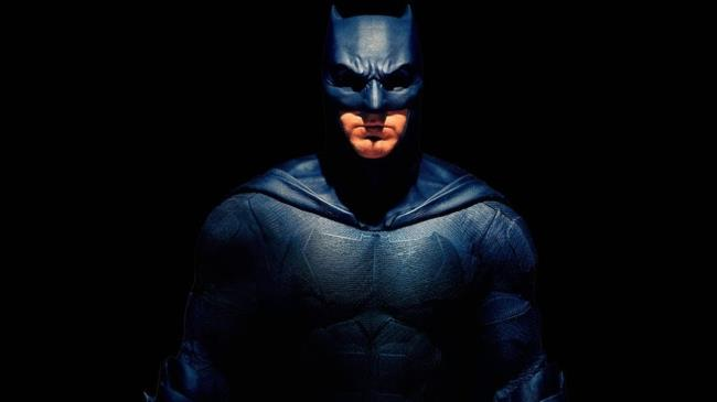 In foto Batman interpretato da Ben Affleck