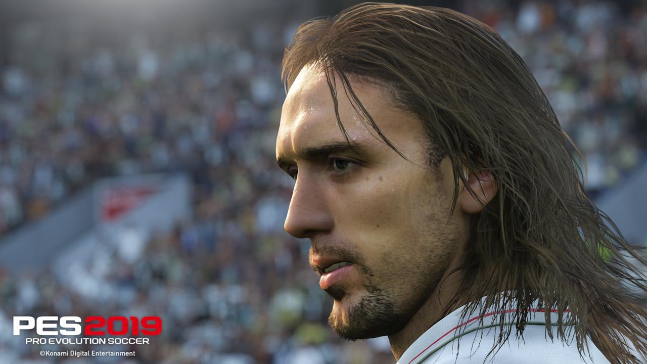 Screen in-game di Batistuta in PES 2019 - 2