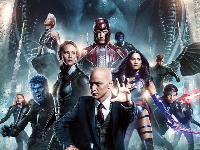 Immagine dei protagonisti dell'ultimo capitolo X-Men: Apocalisse del 2016
