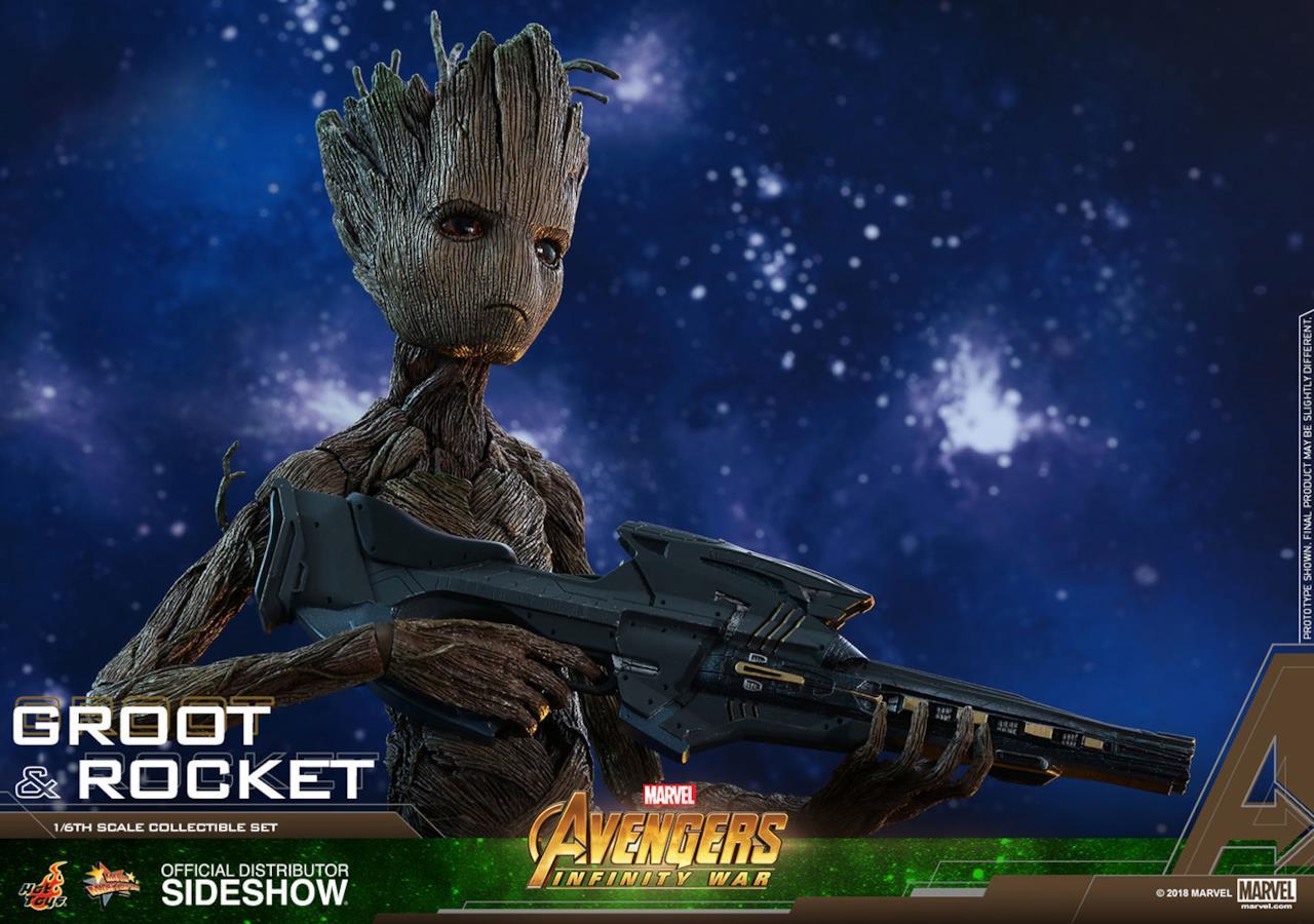 Chissà chi ha insegnato a sparare a Groot?