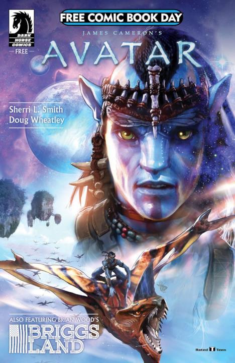 Cover del fumetto di Avatar