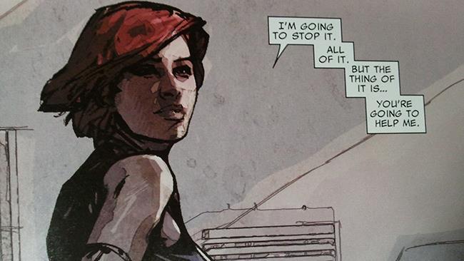 Il fumetto Scarlet diventa una serie TV