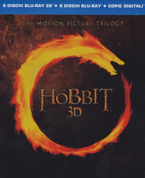 Copertina Blu-Ray de Lo Hobbit