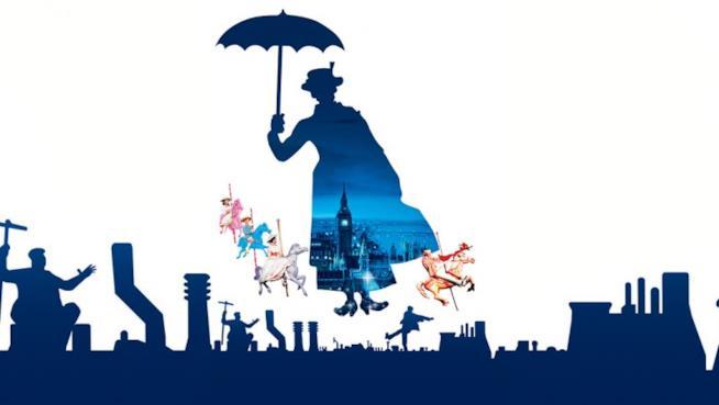 Il poster di Mary Poppins