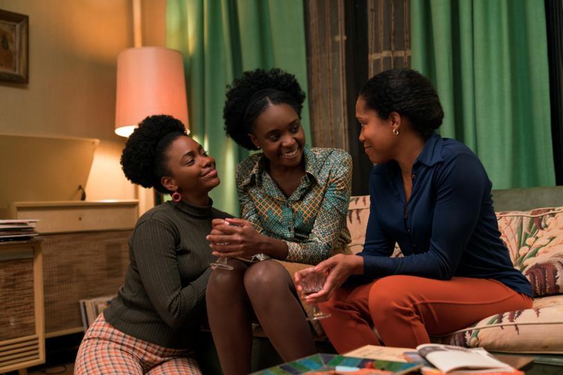 La famiglia di Tish in una scena del film