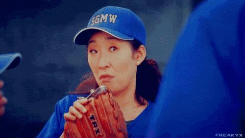 Cristina Yang interpretata da Sandra Oh