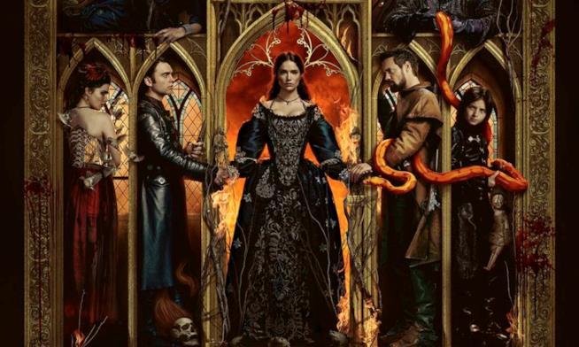 Il poster ufficiale di Salem 3 con Mary Sibley al centro